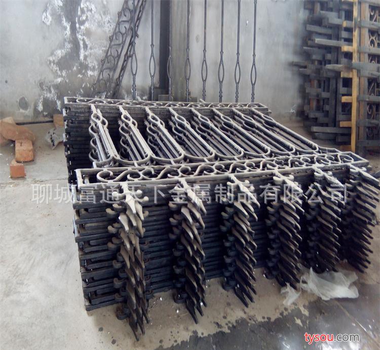 (源头直销优质铁艺护栏)欧式铸铁围墙别墅铁栅栏