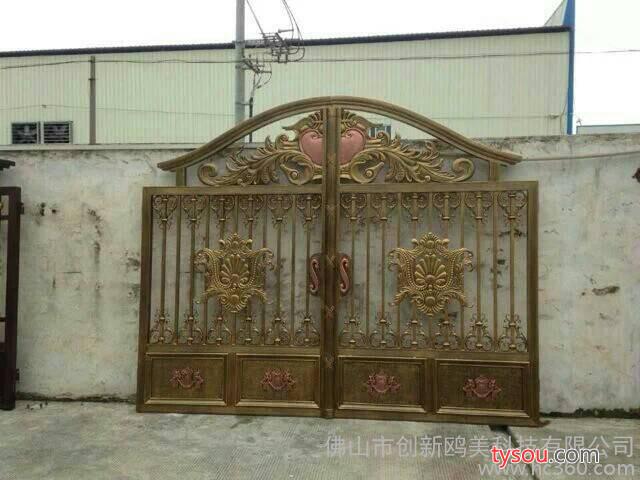 供应铝合金大门、铝合金大门、铝合金围栏