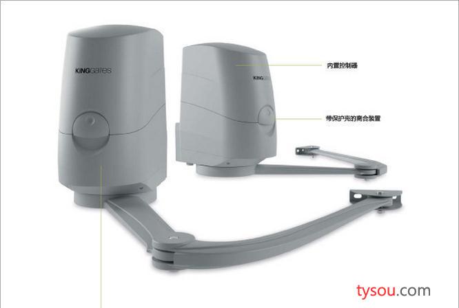 意大利原装进口曲臂自动平开门电机智能遥控闭门器别墅电动门机