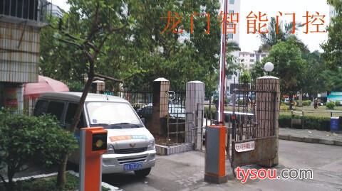 广西南宁旅游区景区出入门道闸  票箱 停车场 车牌识别一体机收费系统