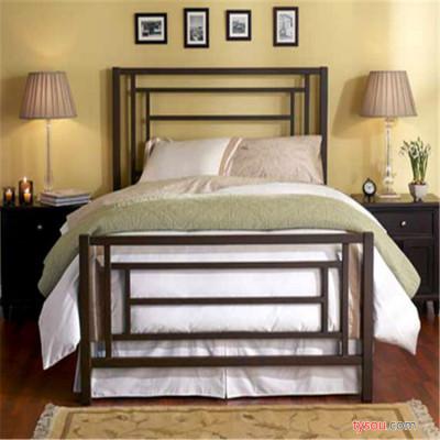 欧式铁艺床双人床1.5/1.8单人床1.2米儿童公主式古典铁艺金属床