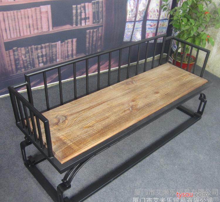 美式乡村铁艺咖啡厅桌茶几组合庭院桌椅loft桌椅阳台休闲铁艺