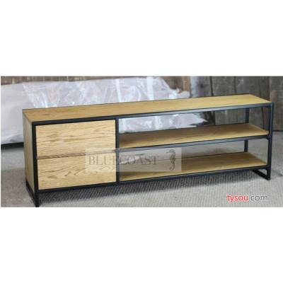 实木铁艺电视柜茶几美式乡村法式家具北欧矮柜 墙边柜 支持定做