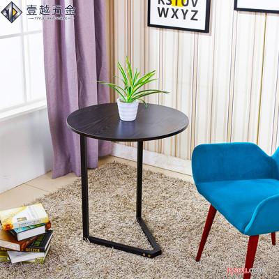 小户型简约现代拆装铁艺小桌子 稳固金属卧室客厅创意简易网红小桌子小茶几