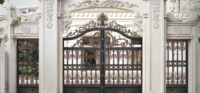 揭秘高端铝艺庭院门的铝材,选购前必读